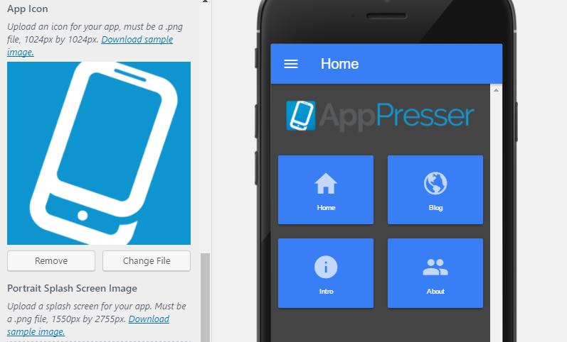 افزونه تبدیل سایت وردپرس به اپلیکیشن موبایل
