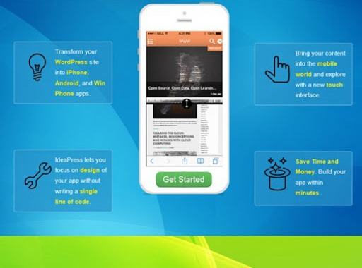 افزونه تبدیل سایت وردپرس به اپلیکیشن موبایل 4
